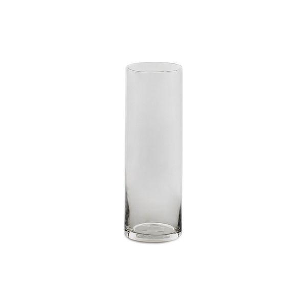 Vaso decorativo de vidro 10x30cm DCasa