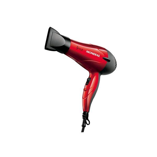 Secador de cabelos style 220v Mondial