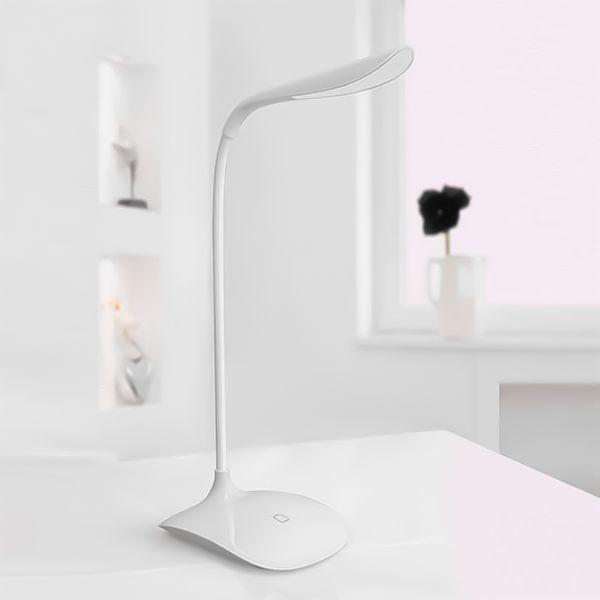 Luminária de mesa led plástica 41cm DCasa Luminária de mesa led plástica DCasa