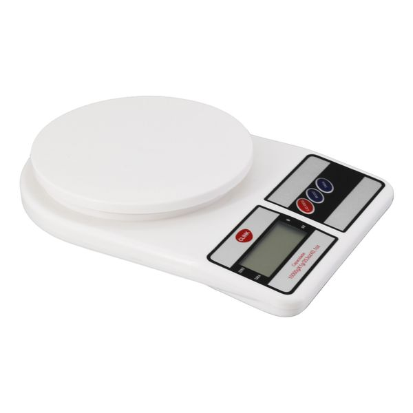 Balança digital de cozinha plástica 10kg Clink