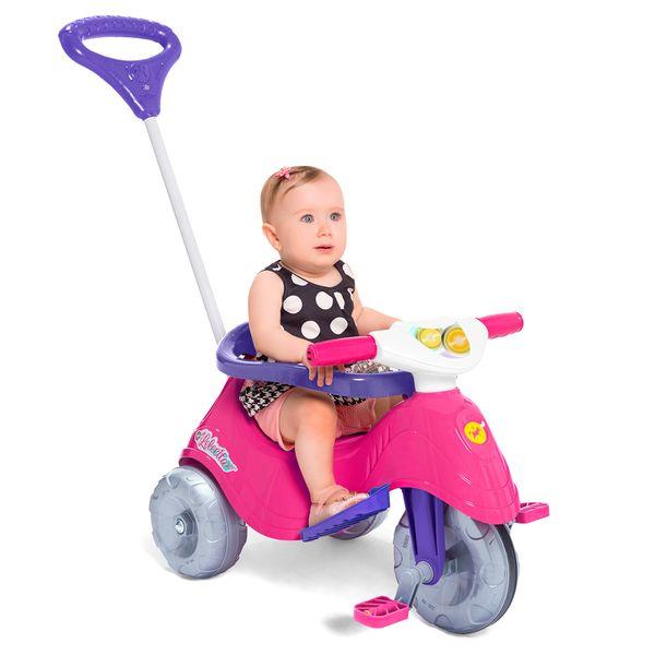Triciclo Lelecita rosa Calesita