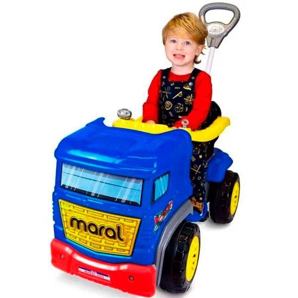 Carro truck pedal azul Maral