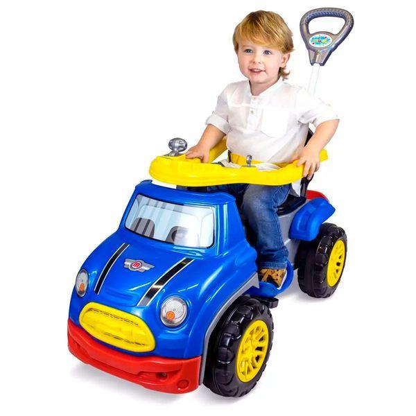 Carro sportcar pedal azul Maral