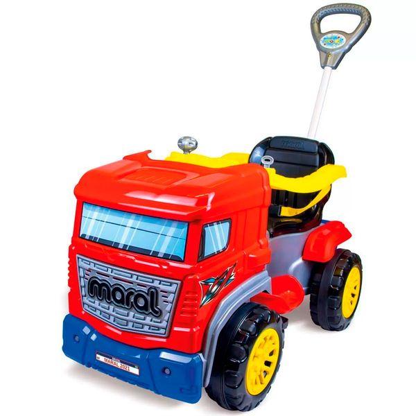 Carro truck pedal vermelho Maral